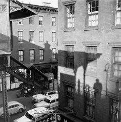 Vivian Maier, Self-Portrait, New York City, 1955