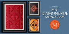 MFC Diamondside Monogram™ font download