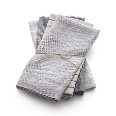 Set of 4 Suits Napkins in New Dining & Entertaining | Crate and Barrel