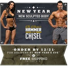 "Who will be joining us on January 4th?   For more info - send email with subject line ""Hammer & Chisel"" to GetFitwithCoachJanet@gmail.com"