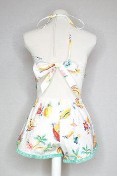 SARAH SET - FRUIT PUNCH Fruit Print, Fruit Punch, Halter Crop Top, Teal Colors, Dreams, Fashion Outfits, Legs, Clothes For Women, Outerwear Women