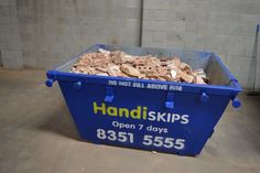 Looking for cheap skip bin hire & waste removal in Brighton? Handiskip SA is your source for local, reliable, professional and affordable skip hire in Brighton. Call Lisa now on: 8351 We are OPEN 7 days a week! Waste Removal, Concrete Bricks, Brighton, Lisa, How To Remove, Commercial, Management, Top, Crop Tee