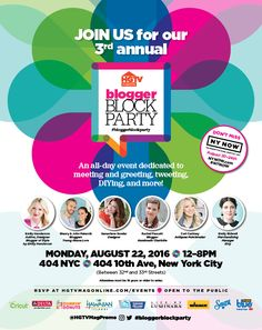 Meet us in NYC at the HGTV Blogger Block Party! Less than two weeks away from the coolest DIY party ever. #bloggerblockparty #HGTVmag