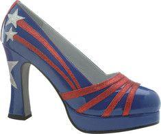Ellie - Starburst-425 (Women's) - Blue/Red $50.95