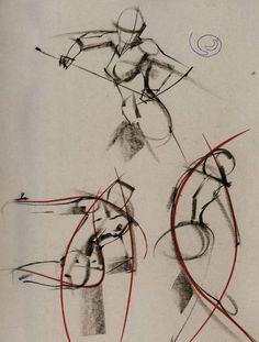 ryan woodward gesture drawing - Google Search