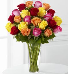 The FTD® Bright Spark™ Rose Bouquet Blooming Plants, Valentine Flower Arrangements, Rose