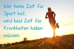 Also ab in die Sportschuhe! Eine Runde joggen oder Fitness beflügeln die Gedanken und beleben den Körper.