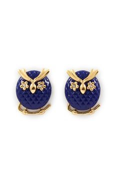 Royal Owl Earrings