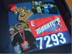 DIY Marathon Medal Frame