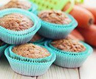 muffiny marchewkę z orzechami