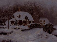 Christmas lights turned on outdoor winter animation