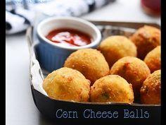 Corn cheese balls recipe - Raks Kitchen