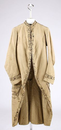 Court coat  Date:     1750 Culture:     European Medium:     silk Dimensions:     [no dimensions available] Credit Line:     Gift of Mr. Lee... Accession Number: C.I.39.13.97