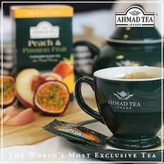 Ahmad Tea Passion Fruit Tea, Ahmad Tea, Tea Cups, Peach, Tableware, Sunday, Dinnerware, Domingo, Tablewares