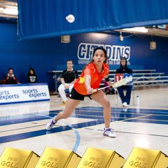 GOLDEN GIRL! Eat your heart out Lin Dan! Iliza Cloutier is on the team & won GOLD in singles AND doubles with partner Arielle Marleau last weekend at the UQAM Open in Montréal! SMOKIN! Live in the Ottawa / Gatineau area? See Lacombe & Brousseau for Li-Ning badminton clothing! www.shopbadmintononline.com/clothing-for-badminton-c-5.html Be Bold | Go Beyond #MakeTheChange!