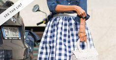 With exception of the gingham dress, every one of these items gets a big fat NO...
