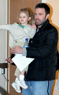 Violet & Ben Affleck from The Big Picture: Today's Hot Photos