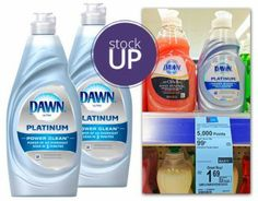 Dawn Dish Soap, Only $0.49 at Walgreens!