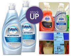 Dawn Dish Soap, Only $0.49 at Walgreens!