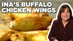 Ina Garten's Buffalo Chicken Wings   Barefoot Contessa   Food Network - YouTube Learn To Cook, Food To Make, Food Network Recipes, Food Processor Recipes, Deep Frying, Barefoot Contessa, Best Chef, Chicken Wing Recipes, Buffalo Chicken