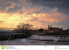 Winter landscape, Csíksomlyó -Sumuleu, Miercurea Ciuc / Csikszereda, Harghita County, Romania