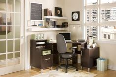 Desk Aesthetic Z Line Computer Small Corner Rustic L Shape Design Cherry Wood Chair Set More Pedestals Drawers Cabinets Astonishing Office Furniture Revolution