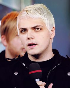 Gerard's White Hair Is Fucking Fantastic