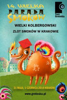 Parada Smoków, soon in Cracow:) The best view from Vidok Restaurant! www.restauracjavidok.pl