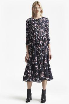 294d9d90d58062 Eva Crepe Loose Fit Maxi Dress