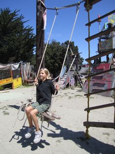 Adventure Playground Berkeley. My kids had a blast when we use to take them there! Thanks for bringing back memories ;)