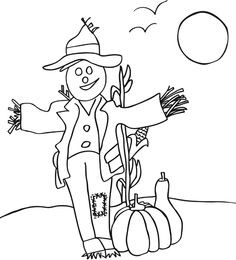 printable fall coloring pages - Fall Pictures To Color Printable