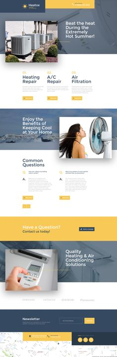 Air Conditioning Responsive Landing Page Template - http://www.templatemonster.com/landing-page-template/air-conditioning-responsive-landing-page-template-58252.html