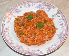 Orez Calugaresc Vegetable Rice, Vegetable Recipes, Risotto, Curry, Appetizers, Vegan, Vegetables, Ethnic Recipes, Skillet