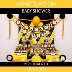 LeeLaaLoo - Construction Baby Shower Mega Set | S20Pz2, $35.00 (http://www.leelaaloo.com/construction-baby-shower-mega-set-s20pz2/)