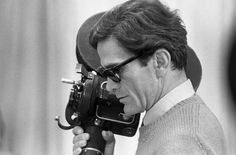"""""""When I make a film I'm always in reality... The cinema is an explosion of my love for reality."""" — Pier Paolo Pasolini"""