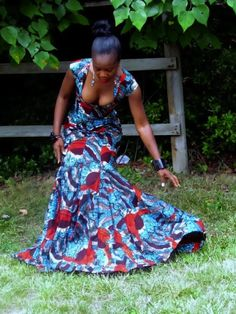 The Green White and Blue Ball: Cocktail Attire Ideas, Wearing African Chic, Win An African Dress Designed by Me! | Because I Am FabulousBecause I Am Fabulous