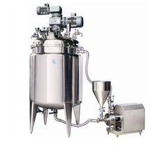 Inline Homogenizer/ High Shear Dispersion Homogenizer with Mixing Vessel