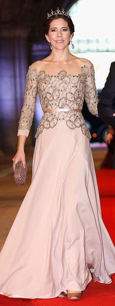 Royal Family Around the World: Crown Princess Mary of Denmark has been voted Most Stylish Young Royal in a poll of Hello! readers FEMAIL look back at her best fashion moments, August 17, 2015