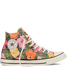 35a49ad26d56a Chuck Taylor All Star Andy Warhol Floral - Converse US Floral Converse