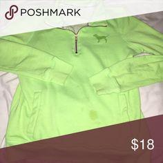 PINK sweatshirt has one stain but is still in great condition PINK Victoria's Secret Tops Sweatshirts & Hoodies