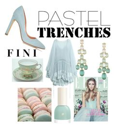 """Pastels"" by fini-i ❤ liked on Polyvore featuring Chloé, Retrò, BCBGMAXAZRIA and Rupert Sanderson"