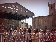 #Nájera celebrará durante los próximos días las populares #fiestas de San Juan y San Pedro  ♪ ♫ #FiestasRiojanas..  ♪ ♫