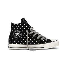 Sneakers montantes Dots Sue Hi Converse en cuir noir prix promo Brandalley 90.00 € TTC