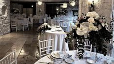 White Wedding Villa, Table Decorations, Wedding, Furniture, Home Decor, Valentines Day Weddings, Decoration Home, Room Decor, Home Furnishings