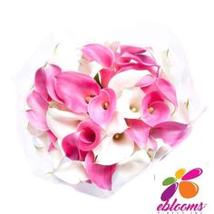 Bridesmaid Mini Callas More colors available - EbloomsDirect Calla Lily Flowers, Bulb Flowers, Classic Romantic Wedding, Types Of Flowers, Bride Bouquets, Pink Color, Special Events, Bloom, Bridesmaid