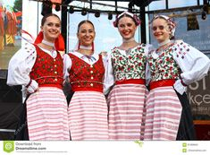 Slovak folklore girls editorial image. Image of istanbul - 91069840