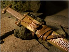 Alemannic sword Valhalla Rising, Merovingian, Germanic Tribes, Viking Sword, Minecraft Construction, Sticks And Stones, Medieval Times, Iron Age, Anglo Saxon