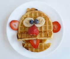idéias criativas café da manhã para as crianças