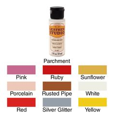 Plaid FolkArt Leather Studio Paint 2oz