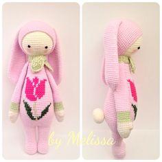 Mesmerizing Crochet an Amigurumi Rabbit Ideas. Lovely Crochet an Amigurumi Rabbit Ideas. Crochet Doll Pattern, Crochet Chart, Crochet Patterns Amigurumi, Amigurumi Doll, Knit Crochet, Crochet Fairy, Crochet Birds, Easter Crochet, Knitted Dolls